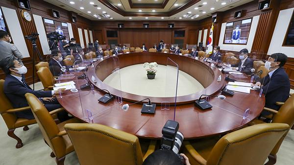글로벌 백신 허브화 추진 TF 1차 회의.