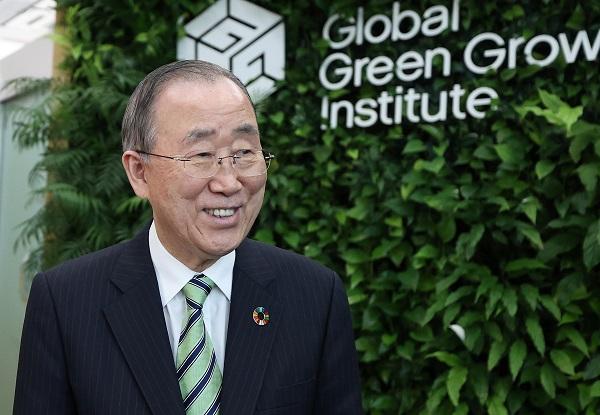 반기문 글로벌녹색성장기구(GGGI) 의장.