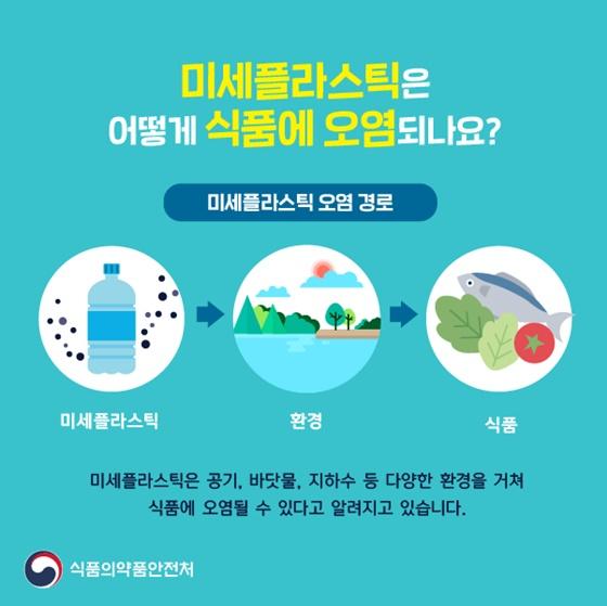 미세플라스틱은 어떻게 식품에 오염되나요?