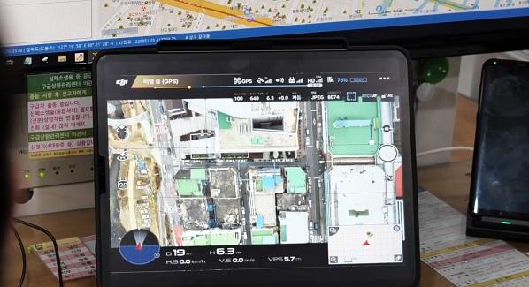 대전 전통시장의 드론스테이션 기반의 무인감시체계 서비스