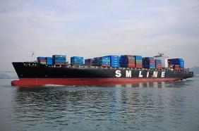 SM상선 임시선박.