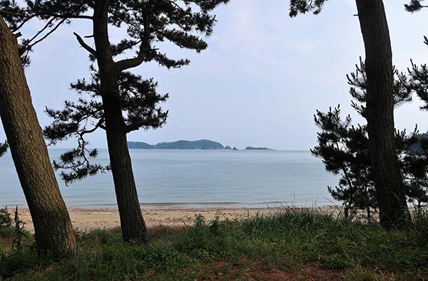 수루미해변 산책길.