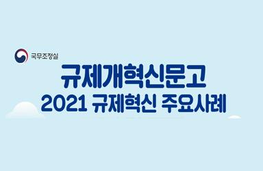 규제개혁신문고 '2021년 규제혁신 주요사례 6'