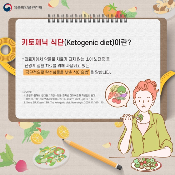 키토제닉 식단(Ketogenic diet)이란?