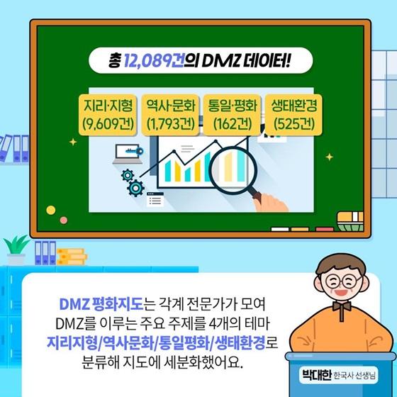 총 12,089건의 DMZ 데이터!