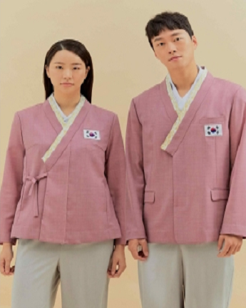 패럴림픽 선수단복.