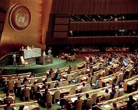 1991년 유엔총회서 남북한 유엔 동시 가입이 이뤄졌다.