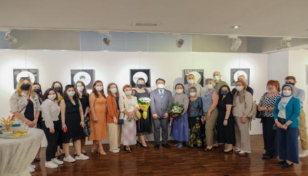 지난 3일 주터키한국문화원에서 열린 한-터 속담 전시회 개막행사.