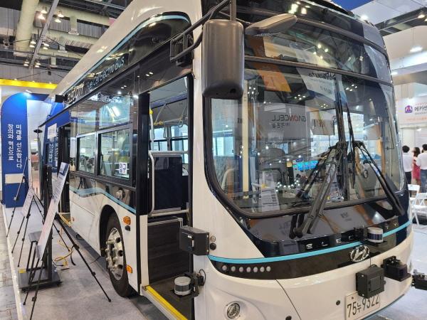 수소와 자율주행 버스가 만났다.