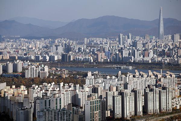 서울 시내 아파트 모습.(사진=저작권자(c) 연합뉴스, 무단 전재-재배포 금지)