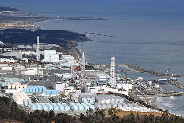 일본 후쿠시마현에 있는 원자력 발전소.(사진=저작권자(c) Kyodo News/연합뉴스, 무단 전재-재배포 금지)