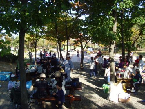 주말에 특히 많이 붐비는 자연학습장 (사진=일산서구청)