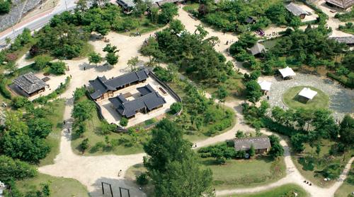 정선아라리촌의 모습. 창조지역사업 선정 후 '정선아리랑 문화체험촌'으로 조성된다.
