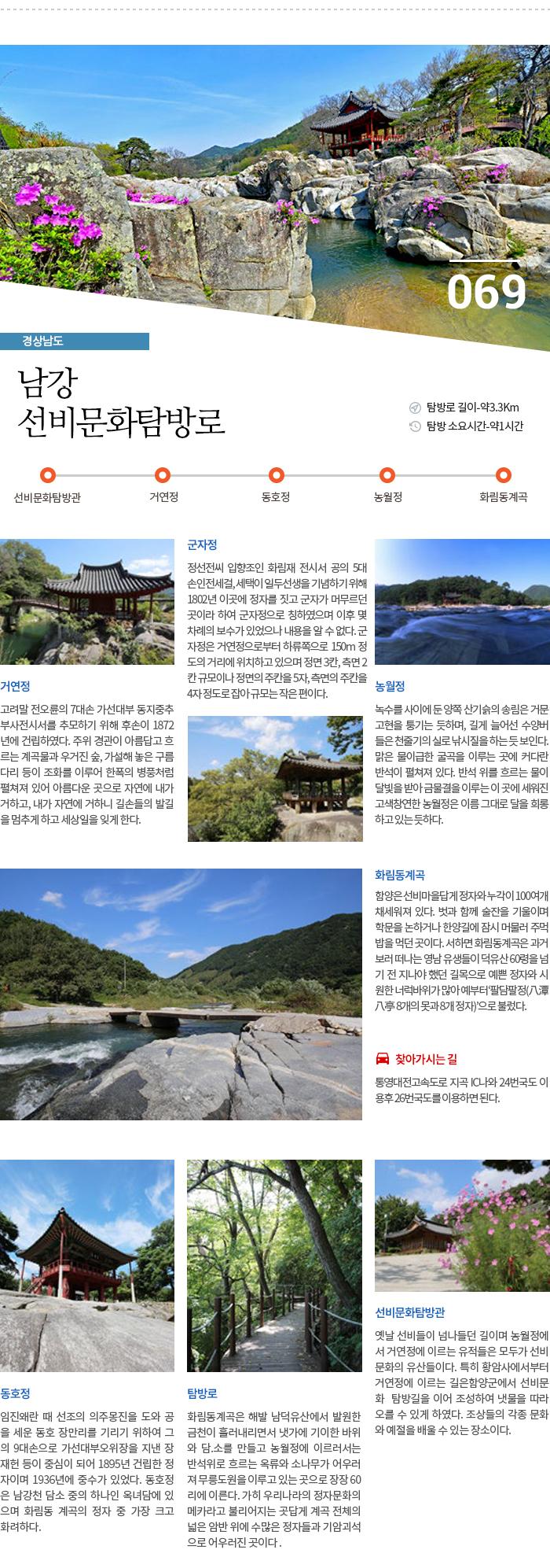 남강 선비문화탐방로