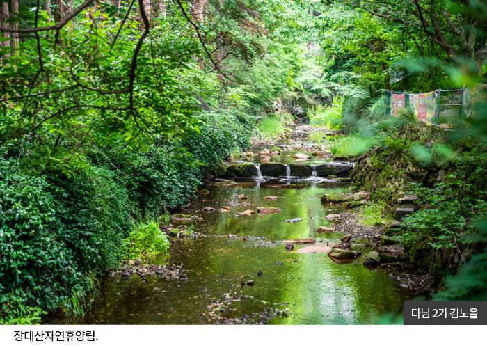 다님2기 김노을 - 장태산자연휴양림