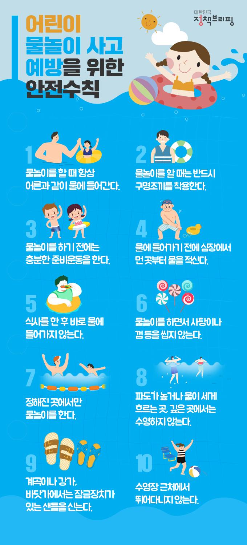 물놀이안전수칙