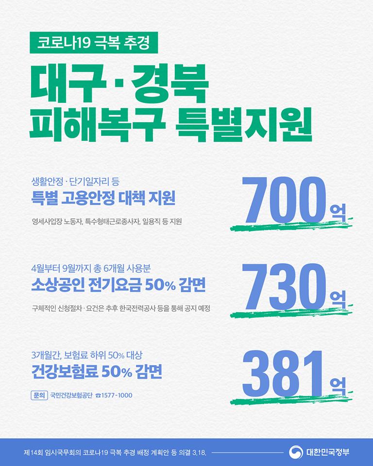 대구·경북 피해복구 특별지원