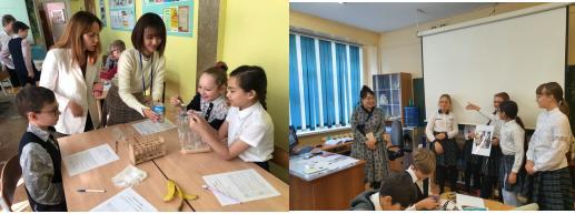 러시아 한국교육원 자유학기 우수 수업 나눔 이미지