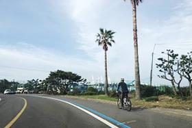 제주 환상자전거길 6구간 남원리~신흥리자전거도로(쇠소깍~표선해변)