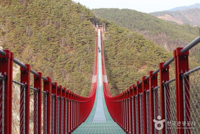출렁다리 무주탑현수교 - 한국관광공사