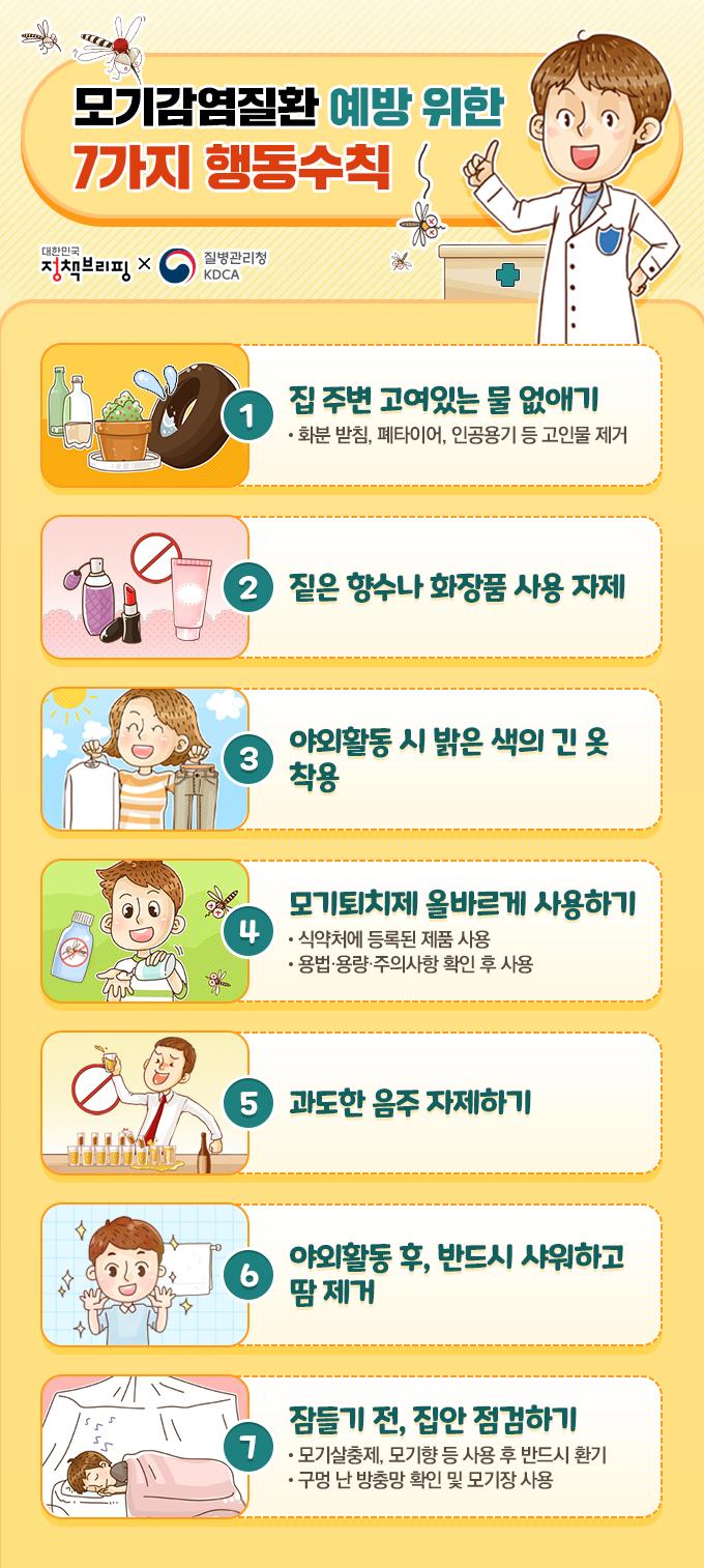 모기감염질환예방수칙