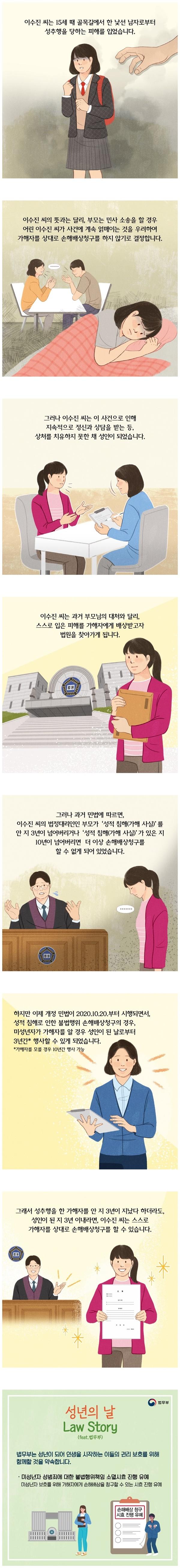 [웹툰] Law Story - 성년의 날 편