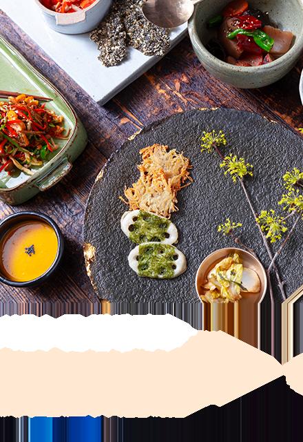 서울 | 꽃, 밥에 피다 - 친환경 재료로 만드는 채식위주의 한식 #채식코스 #보자기비빔밥 #꽃밥