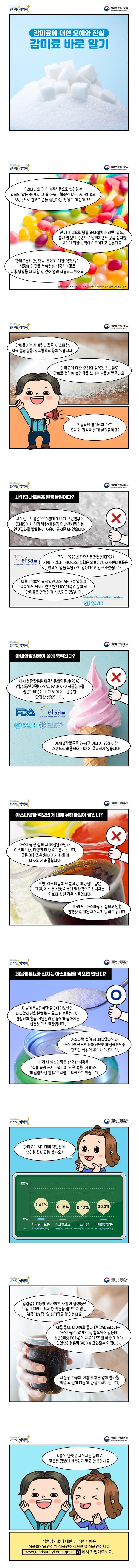 [웹툰] 감미료에 대한 오해와 진실