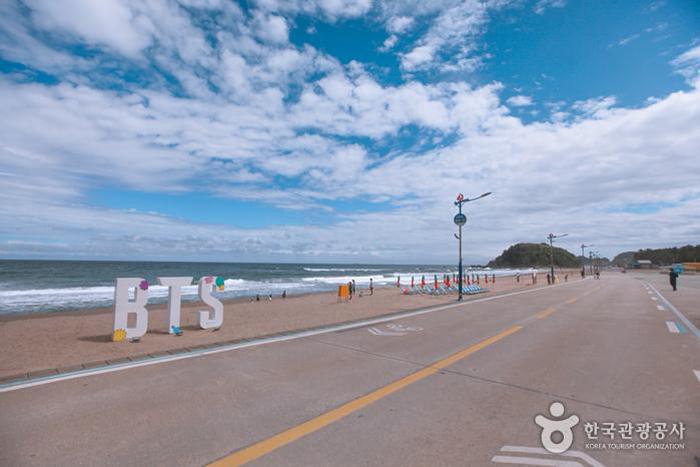 BTS 맹방해변 촬영지 전경 - 한국관광공사