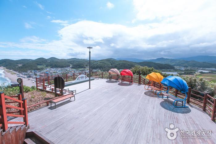 덕봉산 전망대 전경 - 한국관광공사