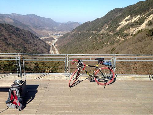 진해~인천 660km, 달리는 아들 응원하는 아버지