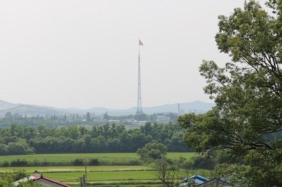 DMZ 내 유일한 마을, 대성동마을에 가다