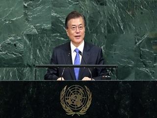 문 대통령, UN총회서 평화를 말하다