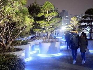서울로 7017에서 평창을 만나다
