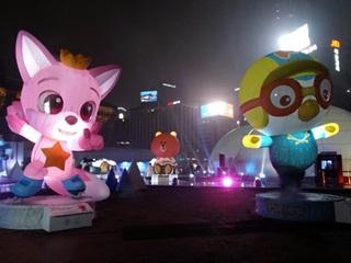 평창동계올림픽 응원하러 뽀로로가 왔어요~!