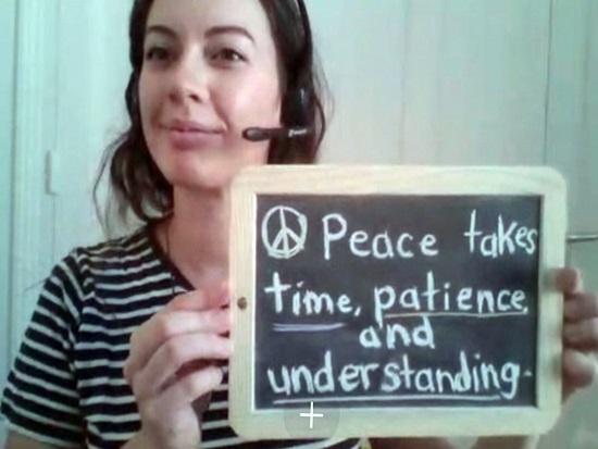 한반도 평화, 전 세계도 응원합니다!
