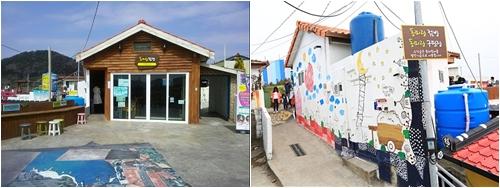 동피랑 점방과 동피랑 구판장의 수익금은 동피랑 마을의 발전기금으로 사용된다.